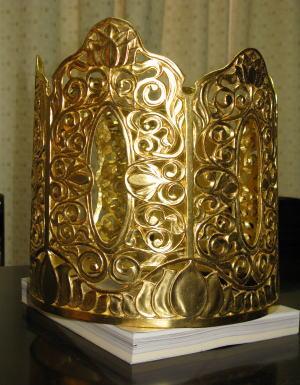 仏像修復 宝冠釈迦如来像